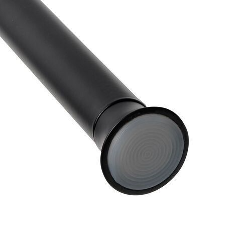 Umbra - karnisz chroma 2,22 cm - 137,1 - 228,6 cm - czarny