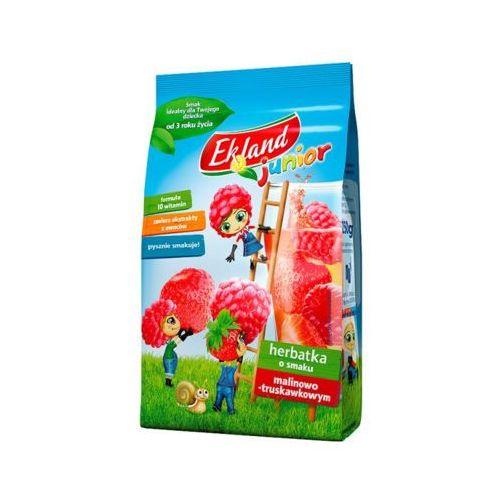 Maspex Ekland 300g junior herbatka o smaku malinowo-truskawkowym od 3 roku życia