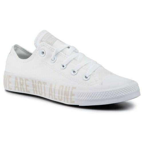 Trampki CONVERSE - Ctas Ox 165384C White/Pale Putty/White, w 4 rozmiarach
