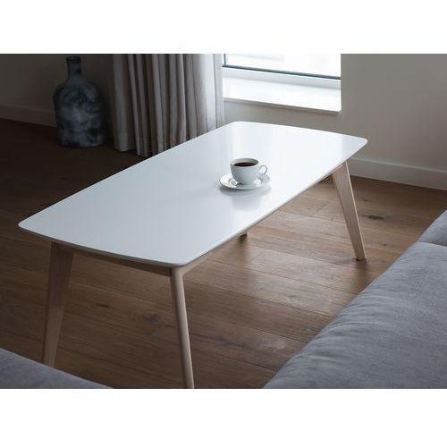 Stolik kawowy - biały - ława kawowa - stół - do salonu - SANTOS