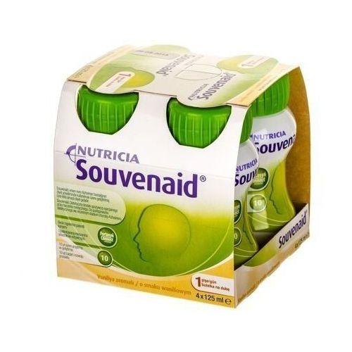 Souvenaid płyn o smaku waniliowym 4 x 125ml marki Nutricia polska