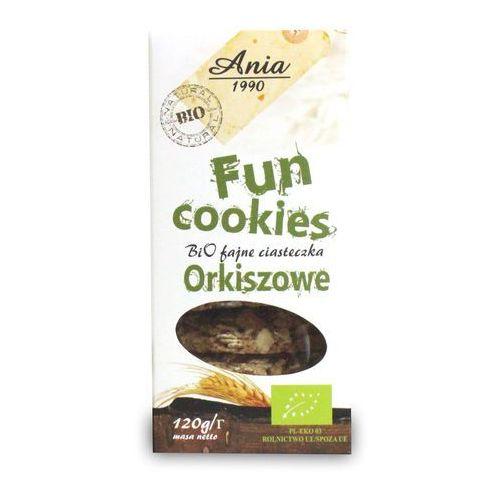 Bio ania Ciasteczka orkiszowe fun cookies bio 120g (5903453004784)