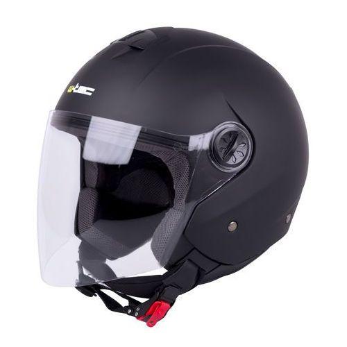 W-tec Kask otwarty na skuter chopper fs-715, matowy czarny, xs (53-54) (8596084053336)