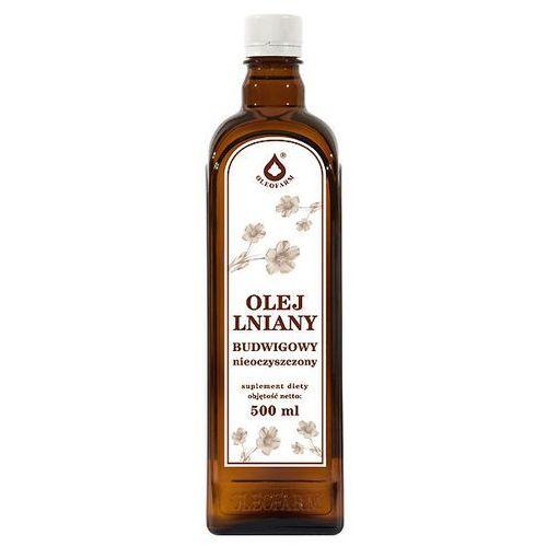 LenVitol, olej lniany tłoczony na zimno, 500 ml (5907559279084)