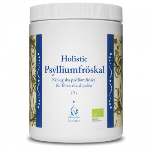Holistic Psylliumfröskal błonnik łuski nasion babki jajowatej Plantago ovata 275g