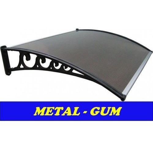 Daszek zadaszenie systemowe drzwi 100x120 marki Metal-gum