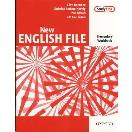 New English File elementary Workbook with key+Cd, Hudson J.