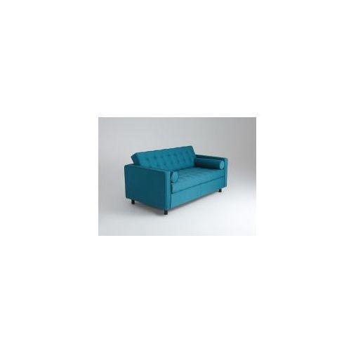 Sofa dwuosobowa z funkcją spania Customform TOPIC MORSKIE FALE- rożne kolory tapicerki, kolor zielony