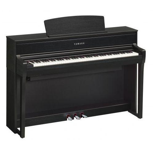 Yamaha clp 675 b clavinova pianino cyfrowe (kolor: black walnut / czarny)