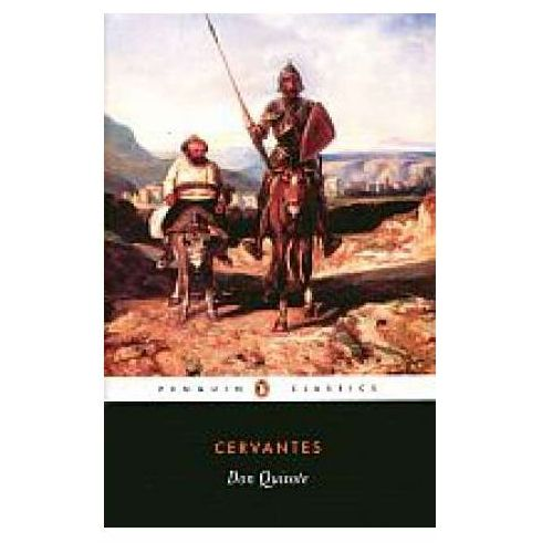 Don Quixote - Miguel de Cervantes, oprawa broszurowa