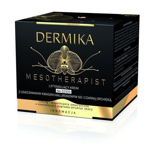 Dermika mesotherapist liftingujący krem na dzień do skóry dojrzałej (with new generation cross-linked hyaluronic acid and black orchid) 50 ml (5902046720025)
