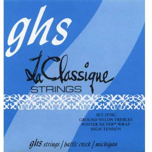 Ghs la classique struny do gitary klasycznej, tie-on, ground trebles, medium high tension