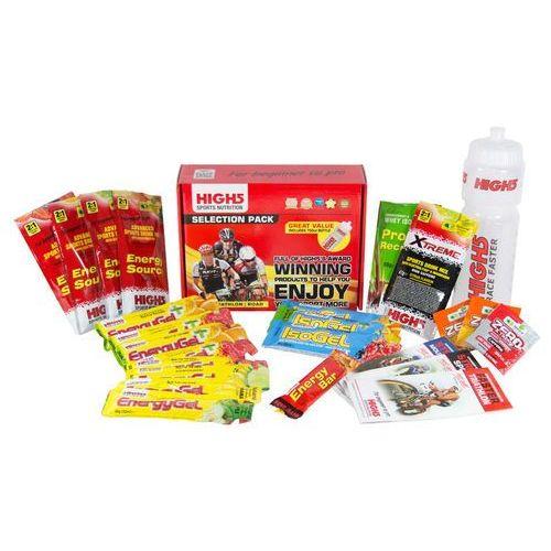 selection żywność energetyczna kolorowy żywność fitness marki High5