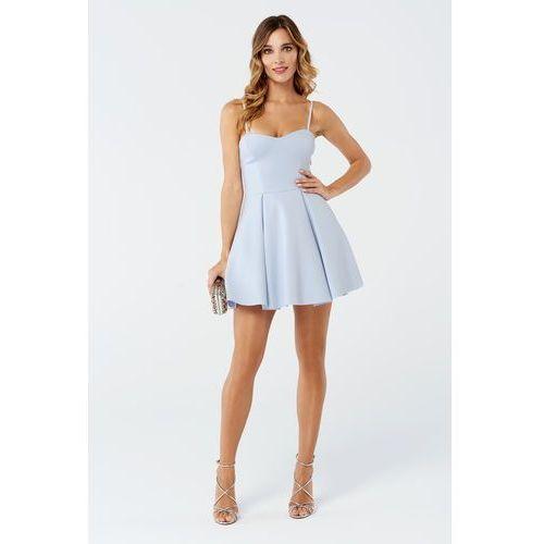 Sukienka Mint w kolorze błękitnym, kolor niebieski