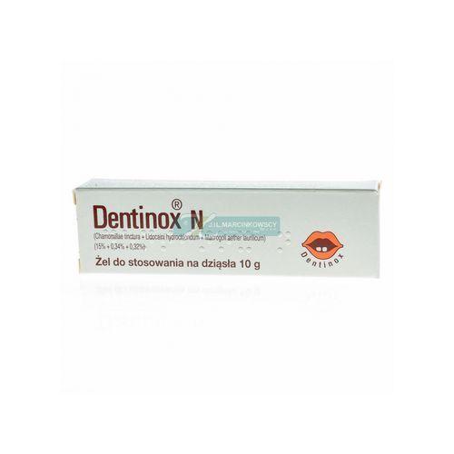 Dentinox N żel na dziąsła - 10 g (tuba)