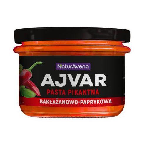 Naturavena 190g ajvar pasta pikantna bakłażanowo-paprykowa