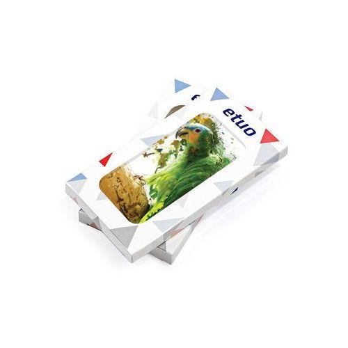 Samsung Galaxy J7 Prime - etui na telefon Foto Case - zielona papuga, ETSM554FOTOFT011000