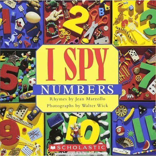 I spy little numbers, oprawa twarda