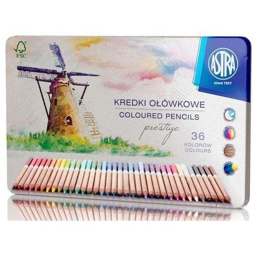 Astra papiernicze Kredki ołówkowe prestige 36 kolorów w kasetce (5901137101965)