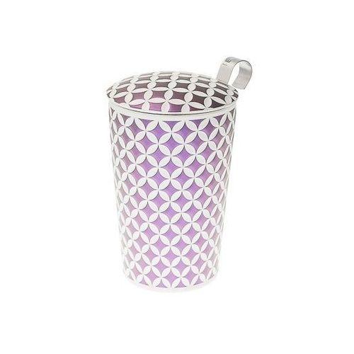 Eigenart kubek z zaparzaczem teaeve may lin lilac 350 ml (4260082935676)