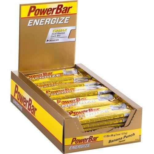 Powerbar energize żywność dla sportowców banana punch 25 x 55g 2018 zestawy i multipaki