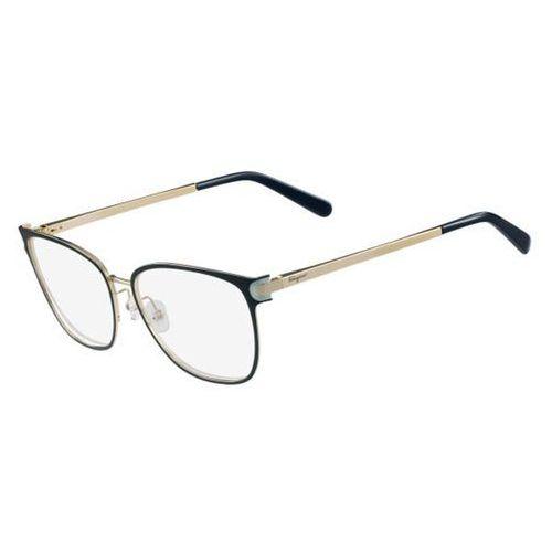 Okulary korekcyjne sf 2150 428 marki Salvatore ferragamo