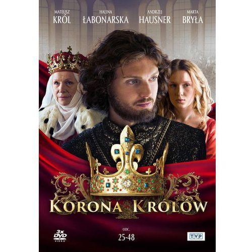 Korona królów. Sezon. 1 Odcinki. 25-48 (3 DVD) (Płyta DVD) (5902739669273)