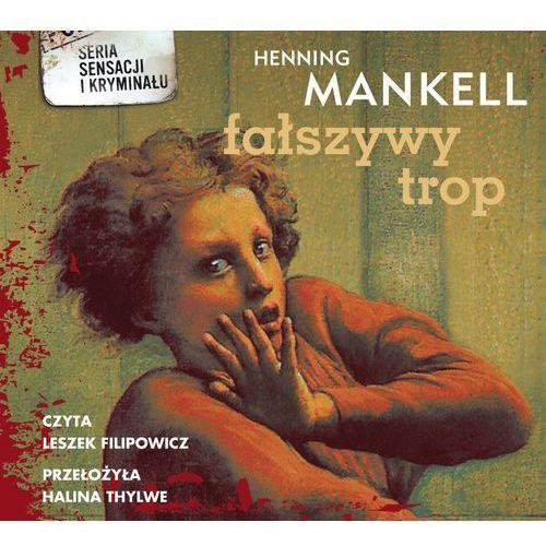 Fałszywy trop. Książka audio CD MP3 - Henning Mankell, Biblioteka Akustyczna