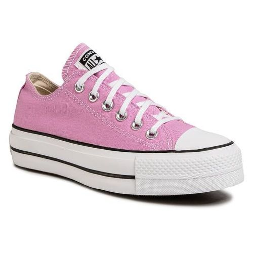 Trampki - ctas lift ox 566756c peony pink/white/black, Converse, 35-41