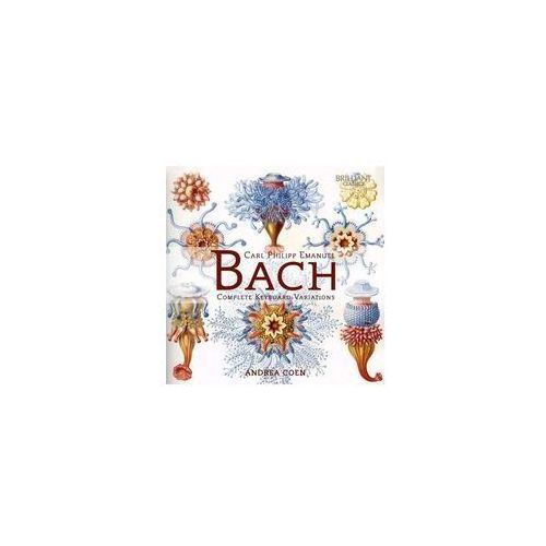 Brilliant classics Bach complete keyboard variations (5028421953052)