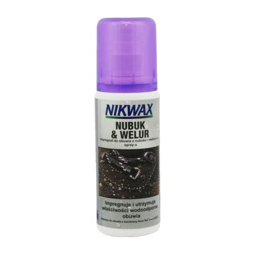 NIKWAX NUBUCK I WELUR/FOOTWEAR CLEANING GEL 125 ml, 1682