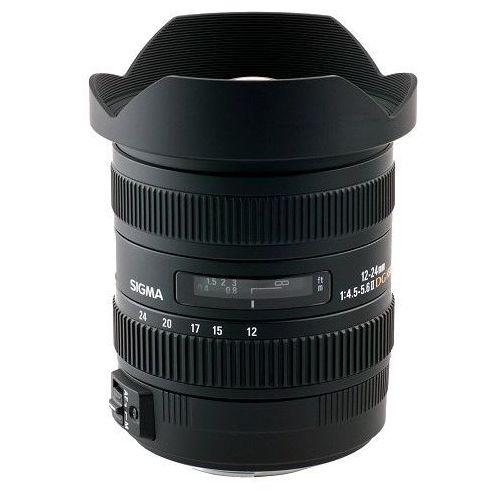 Obiektyw Sigma 12-24 F4.5-5.6 DG HSM II mocowanie Nikon