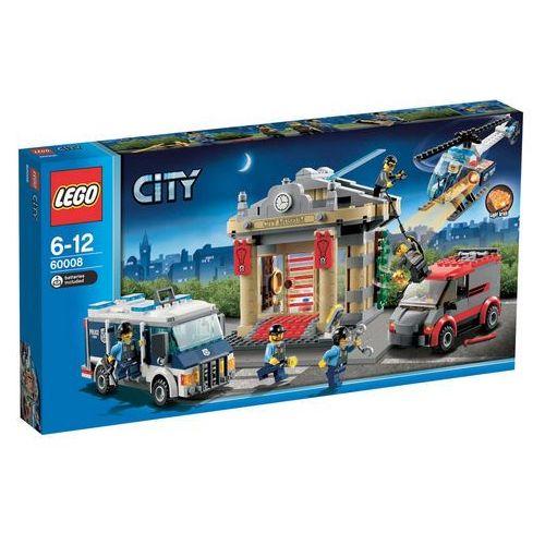 Lego City WŁAMANIE DO MUZEUM 60008 z kategorii: klocki dla dzieci
