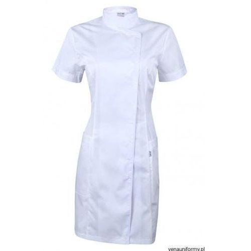Fartuch biały - taliowany (odzież medyczna)