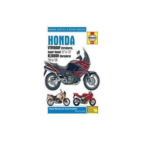 Honda VTR1000F (Firestorm, Superhawk) & XL1000V (Varadero) Service and Repair Manual