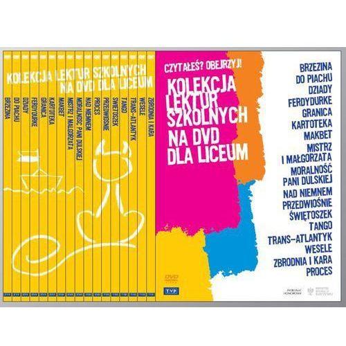 Telewizja polska Pakiet: kolekcja lektur szkolnych na dvd dla liceum [20dvd] (5902600068778)