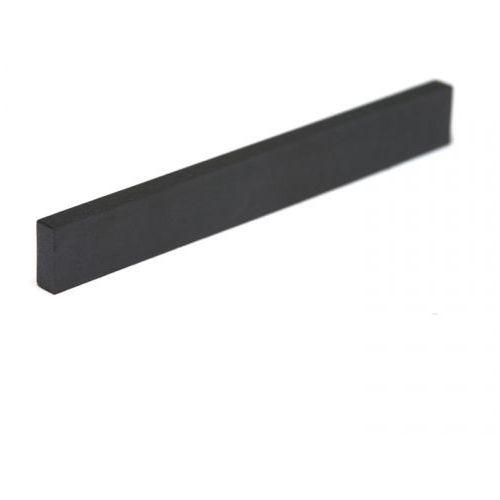 black tusq xl pt-4125-00 - guitar or bass nut, flat, blank slab, 1/8 thick siodełko do gitary marki Graphtech