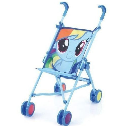 Wózek dla lalek my little pony rainbow dash, marki Hauck