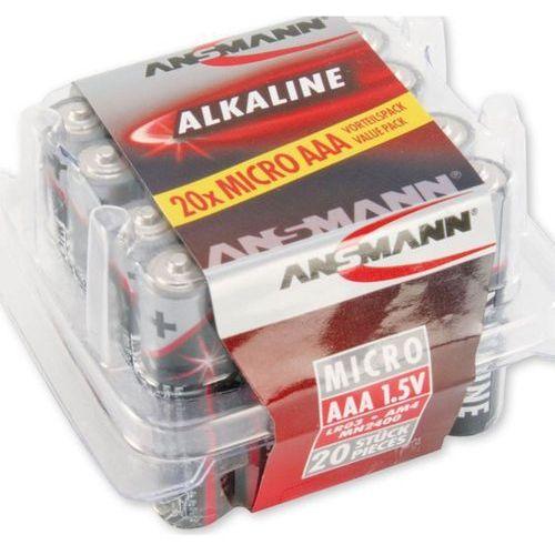 Ansmann Bateria, 20xAAA Box, 1.5V (5015538) Darmowy odbiór w 21 miastach!, 5015538