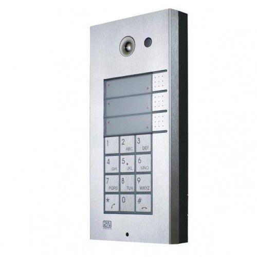 Helios Domofon do centrali telefonicznej 3p. + klawiatura - 2N, 01385
