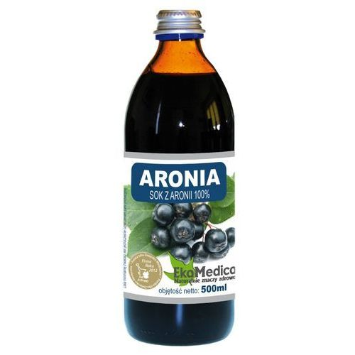 Aronia sok 100% (500 ml) EkoMedica (5902596671112)