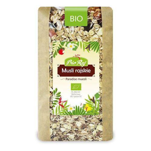 Bio raj (konfekcjonowane) Musli rajskie bio 700 g - bio raj (5902983782919)