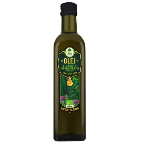 Olej z nasion ostropestu plamistego bio 250ml dary natury marki Dary natury - inne bio