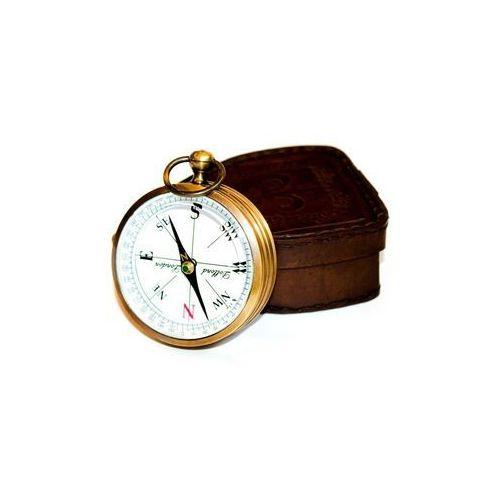 Kompas w skórzanym eui COM-0296