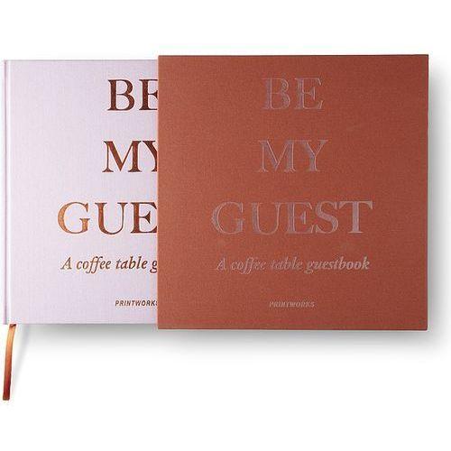 Księga gości Printworks rdzawo-różowa (7350108171267)