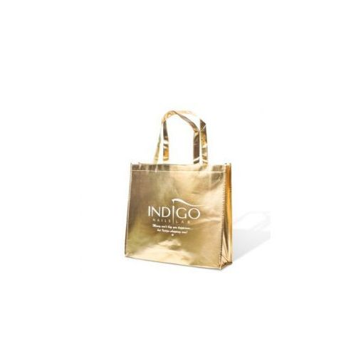 złota torba marki Indigo