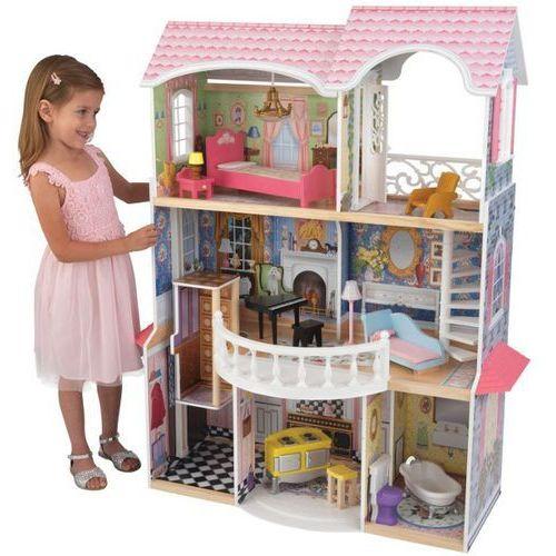 - domek dla lalek barbie magnolia (światło+dźwięk) - 65839 rabat marki Kidkraft