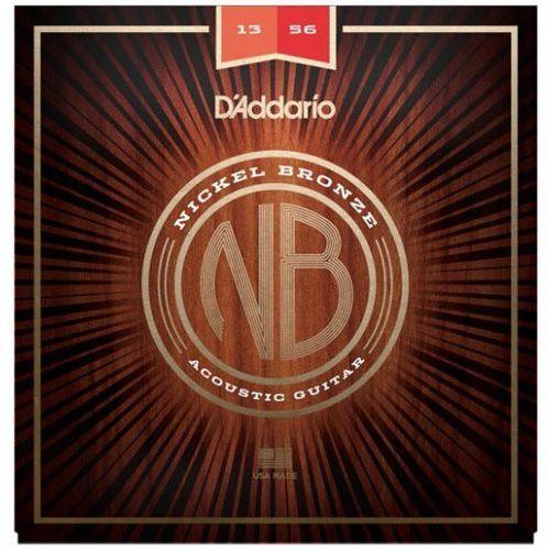 D′addario nb1356 nickel bronze struny do gitary akustycznej 13-56