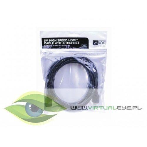 Kabel HDMI długość 1m W Box Technologies WBXKS451, 25378