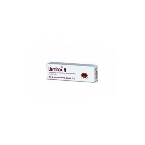 Dentinox N żel na ząbkowanie 10 g